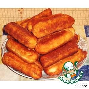 Сосиска с картофелем в тесте