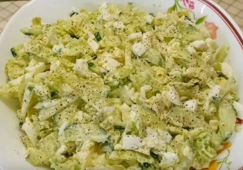 Салат с пекинской капустой – 15 простых рецептов на каждый день и праздничный стол