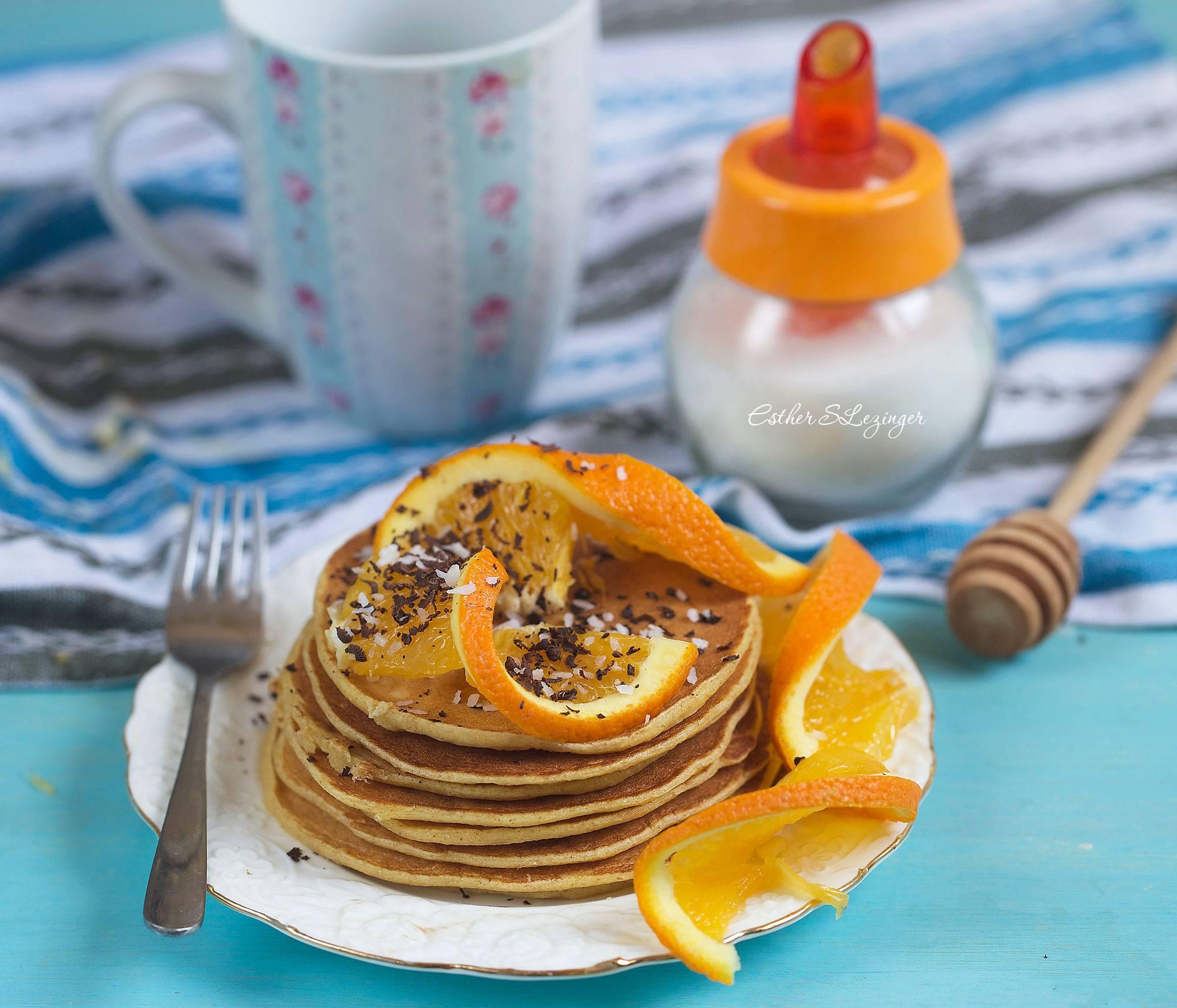 Апельсиновые панкейки - кулинарный рецепт. миллион меню