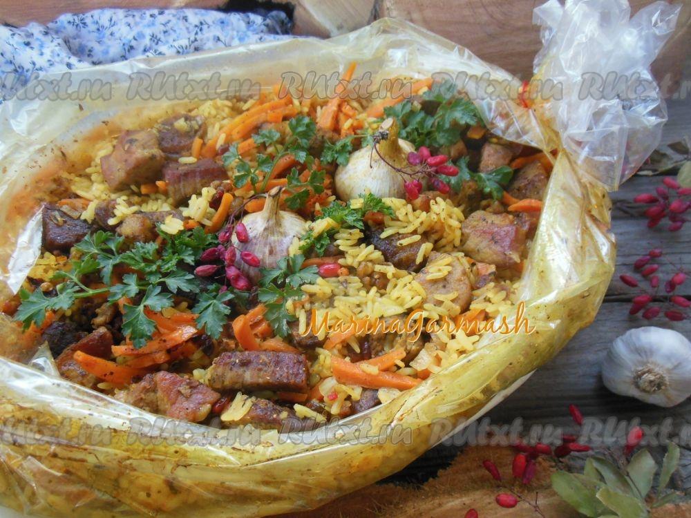 Пошаговый рецепт приготовления риса с грибами