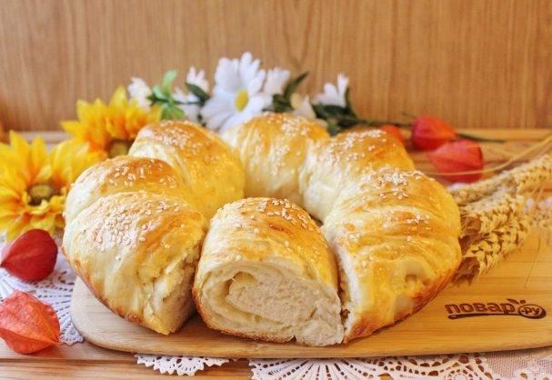 Итальянский хлеб с чесноком