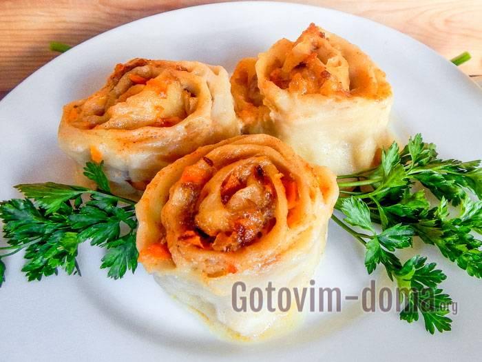 Ленивые пельмени на сковороде. пошаговый рецепт с фото