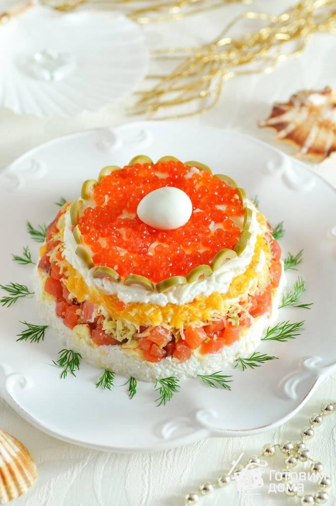 Апельсиновый салат с огурцом