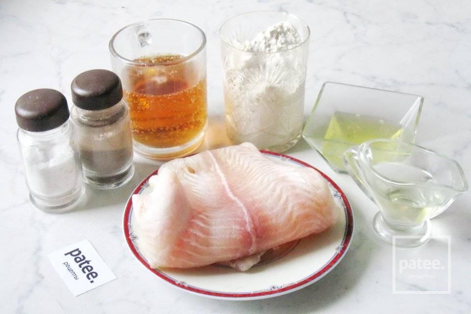 Пангасиус, запеченный под перечной шубой