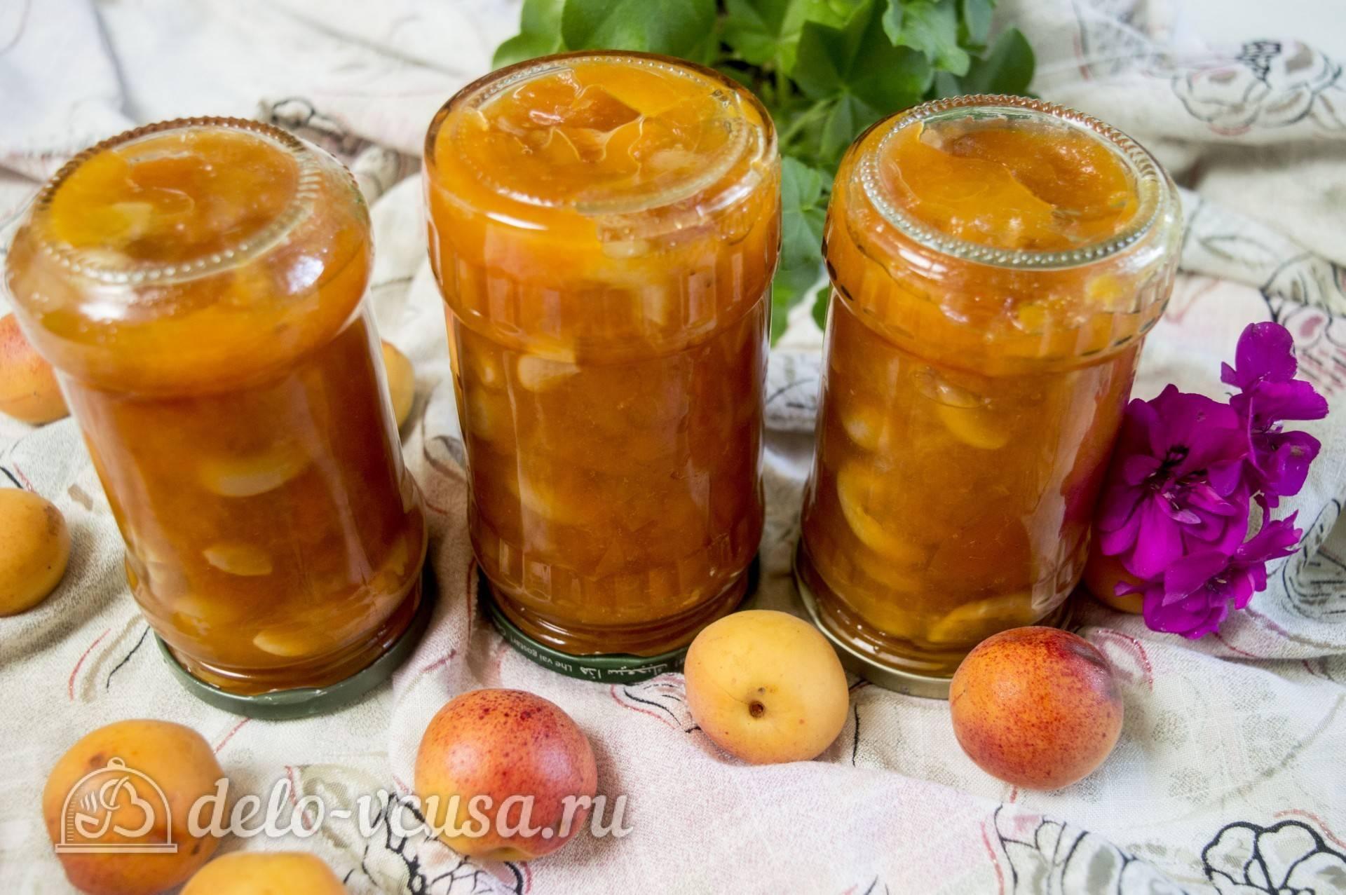 Варенье из абрикосов с грецким орехом: рецепт
