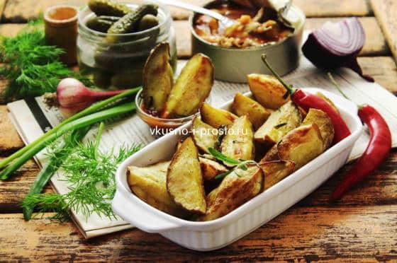 Запеченный картофель-пюре