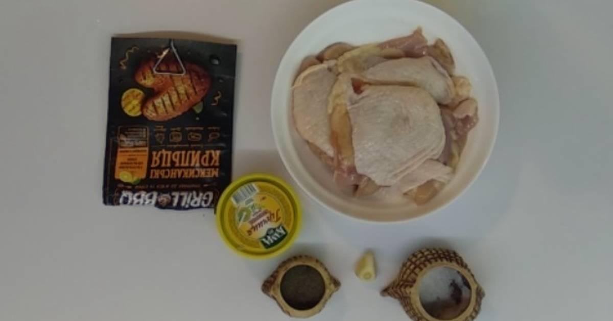 Рецепт курицы в духовке целиком с корочкой