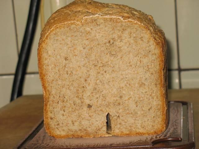 Хлеб с пшеничными отрубями