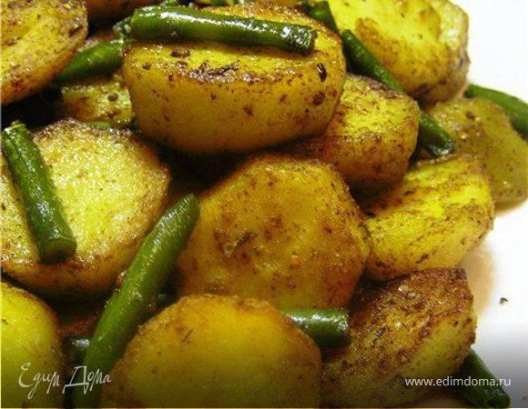 Мясо со стручковой фасолью - пошаговый рецепт с фото