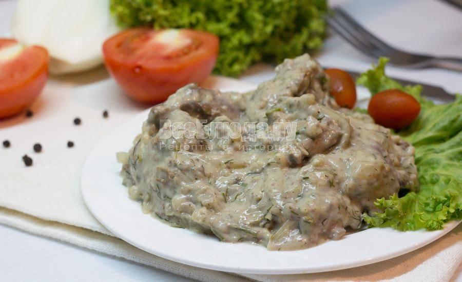 Куриная печень в соевом соусе - 9 пошаговых фото в рецепте