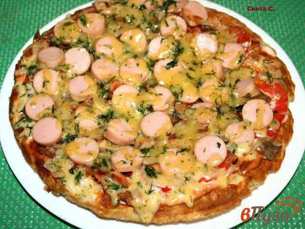 Пицца на сковороде за 10 минут. быстрые и вкусные рецепты