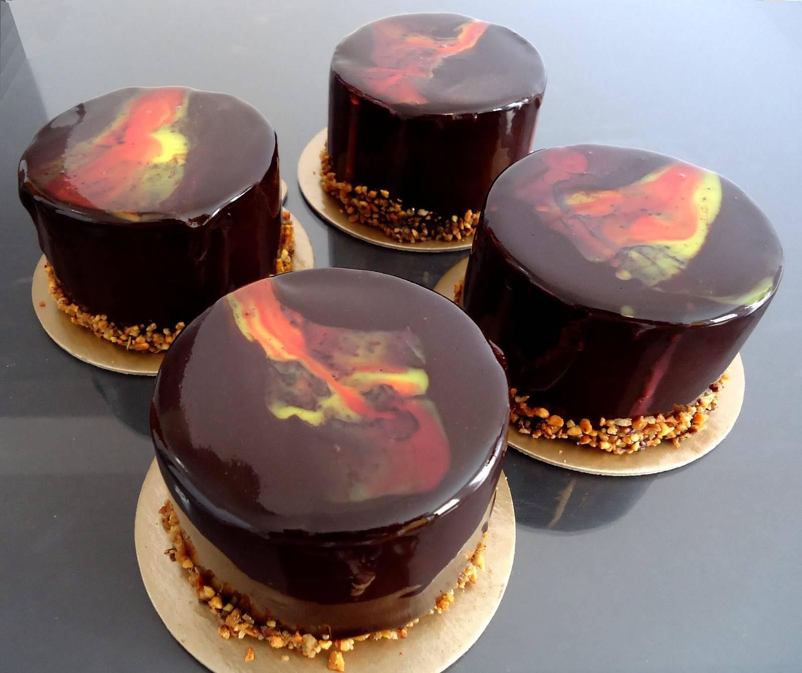 Зеркальная глазурь — идеальный торт своими руками