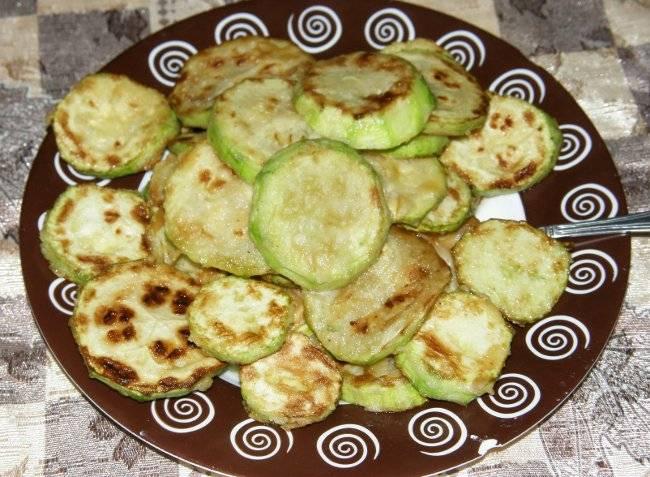 Жареные кабачки с чесноком - 8 пошаговых фото в рецепте