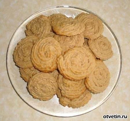 Сметанное печенье без яиц