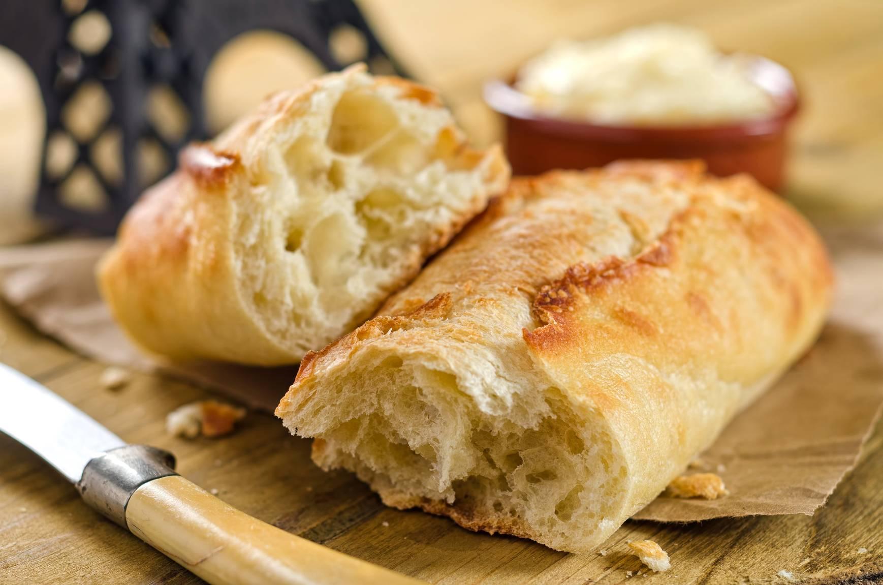 Французский багет – рецепт в духовке на живых дрожжах - рецепт с фото пошагово