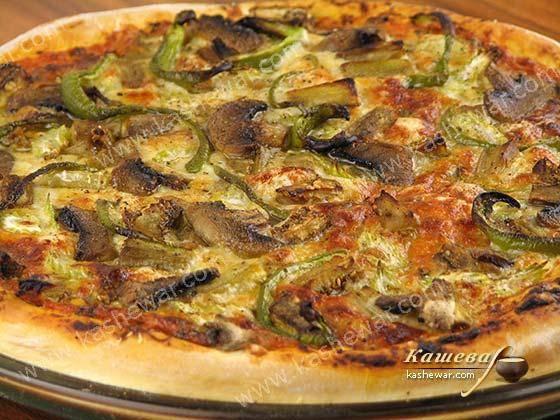 Баклажанные мини-пиццы