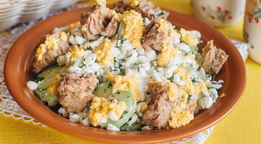 Рецепты салат с зерненым творогом
