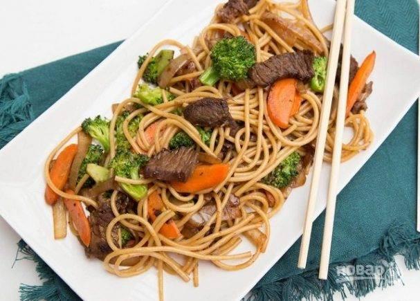 Лапша с овощами - 206 домашних вкусных рецептов приготовления