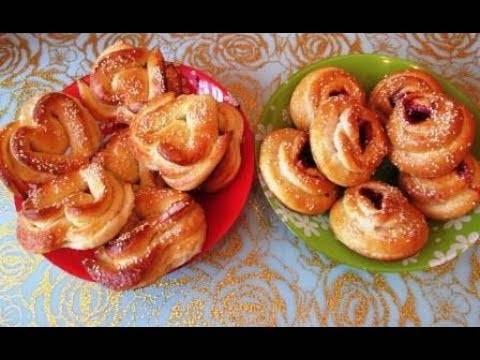Капустные булочки с кунжутом