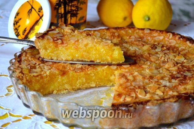 """Лимонный пирог """"наивкуснейший"""""""