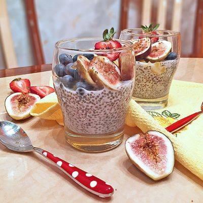 О пудинге из семени чиа: как сделать, рецепт на кокосовом молоке в условиях дома