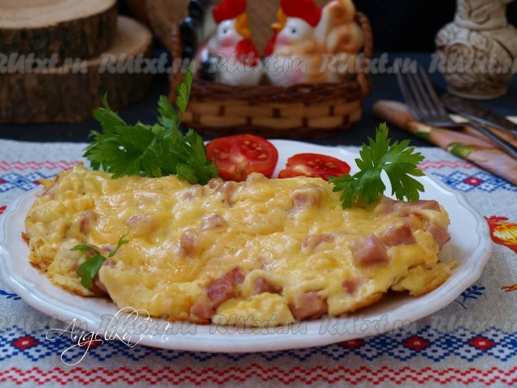 Бутерброды с омлетом - 8 пошаговых фото в рецепте