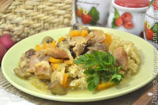 Как приготовить вкусную подливу из свинины и грибов на сковороде