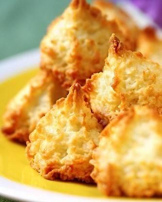 Кокосовое печенье с изюмом