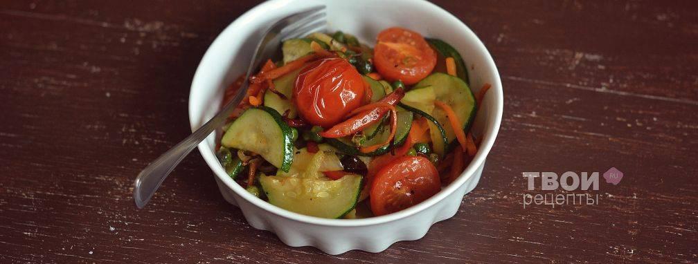 Соте из кабачков — 8 подробных рецептов приготовления с фото