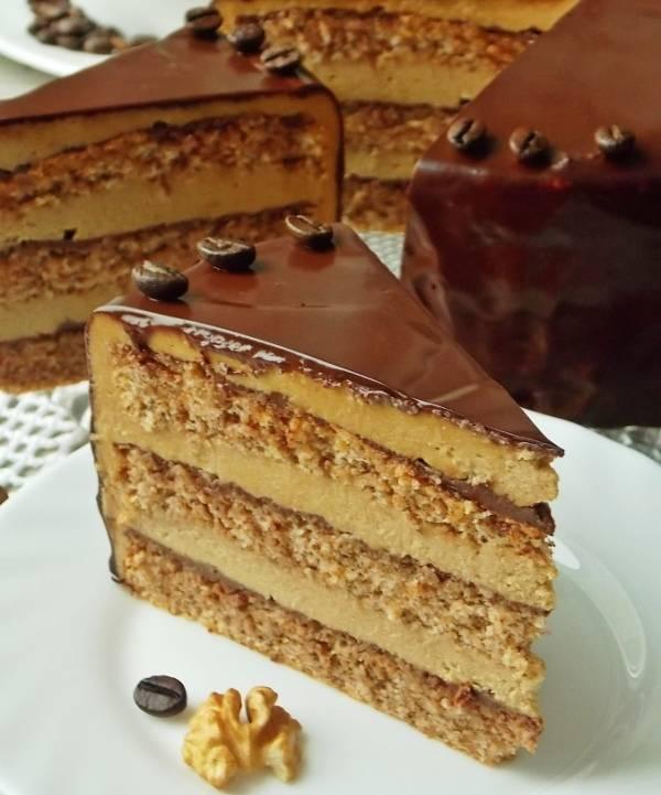 Постный кофейно-шоколадный кекс