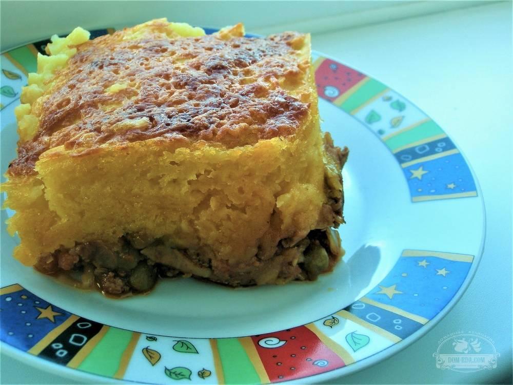 Пастуший пирог в картофельных горшочках