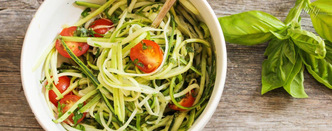 Паста с кабачками (по-итальянски, сыроедческая): рецепты