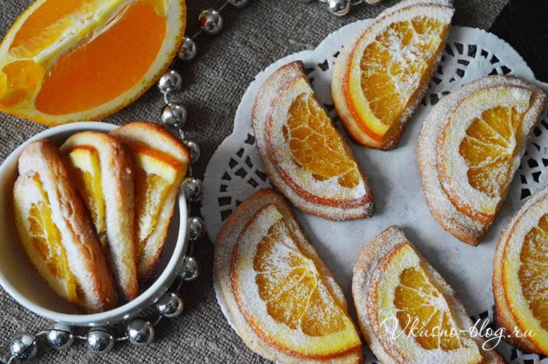 Лимонно-апельсиновое печенье