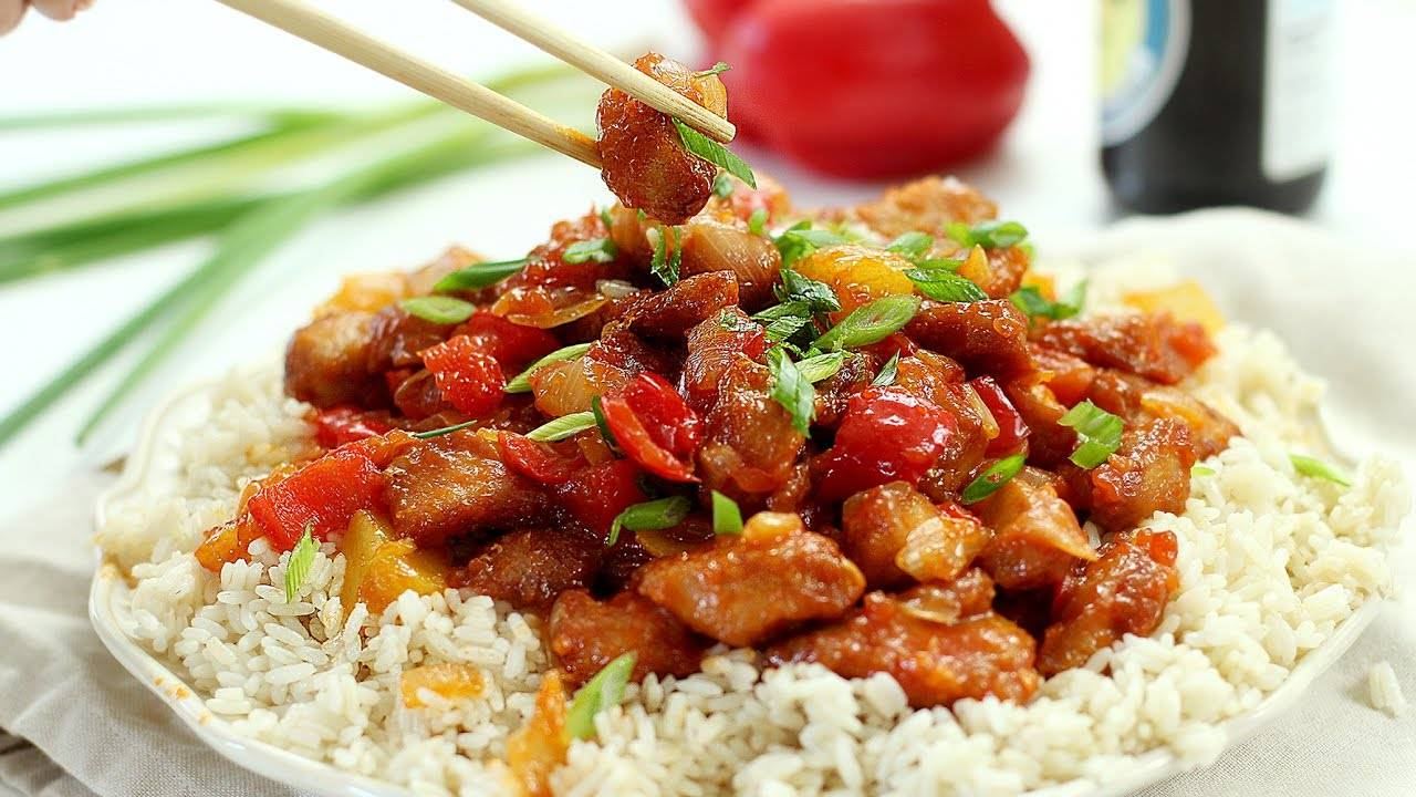 Курица в кисло-сладком соусе - вкусные рецепты для любителей необычных сочетаний