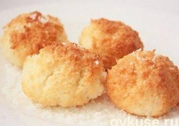 Печенье из кокоса