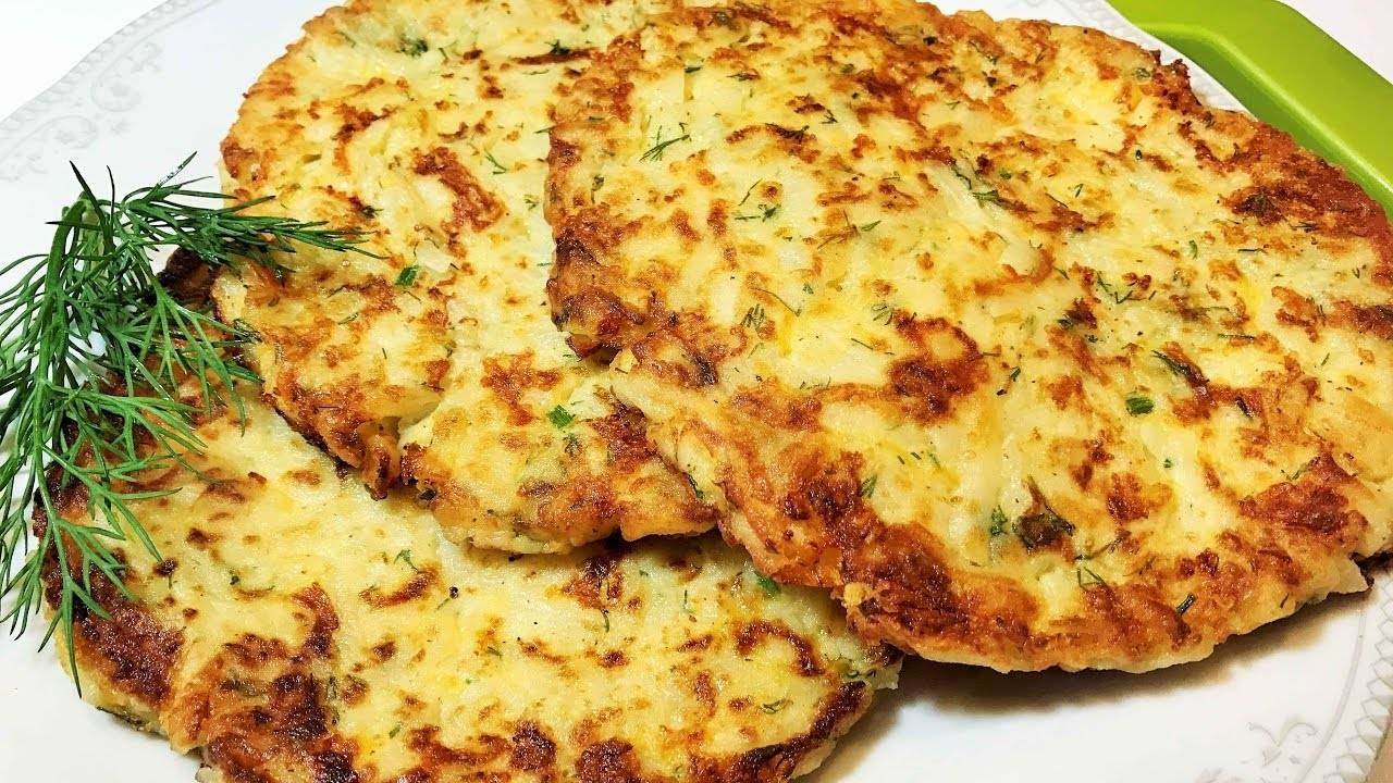 Картофельные лепешки — рецепты на сковороде, в духовке