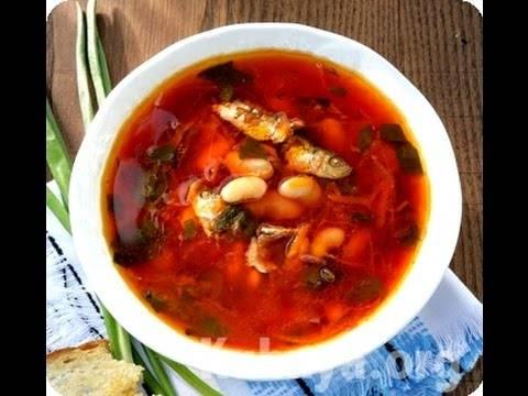 Постный борщ с килькой в томате - рецепт с фотографиями - patee. рецепты