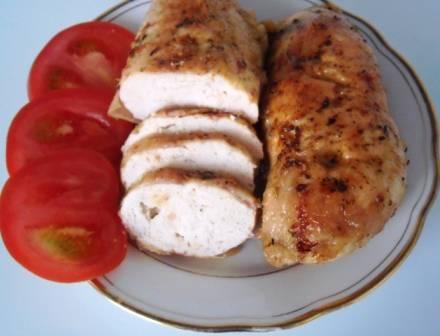 Домашняя колбаса (куриная)