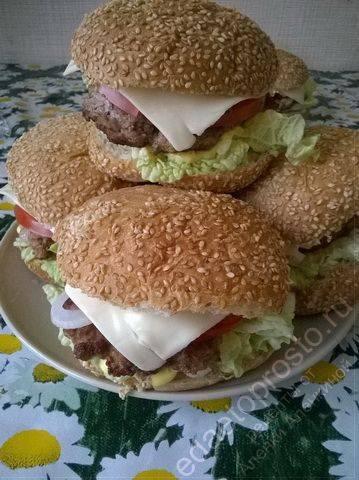 Чизбургер: рецепты приготовления