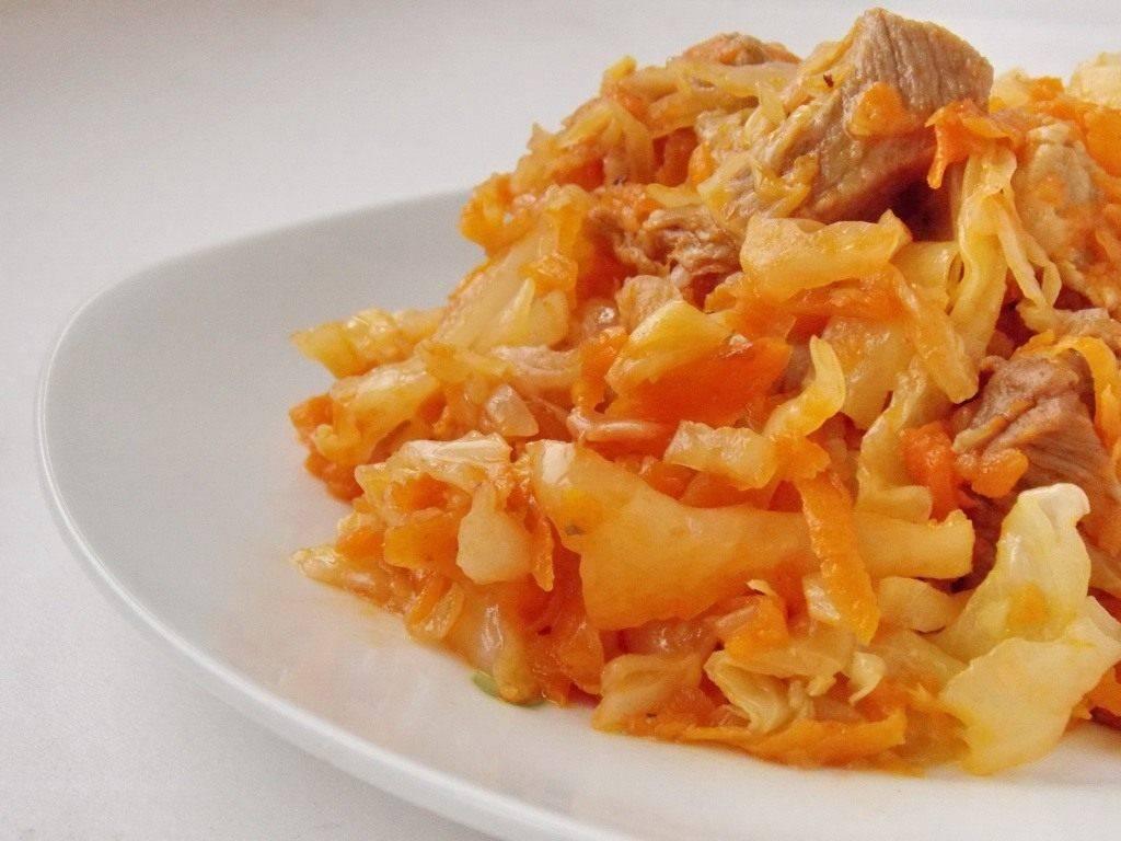 Тушеная капуста с рисом — 7 рецептов приготовления