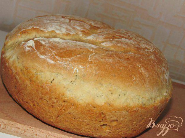 Домашний хлеб с укропом