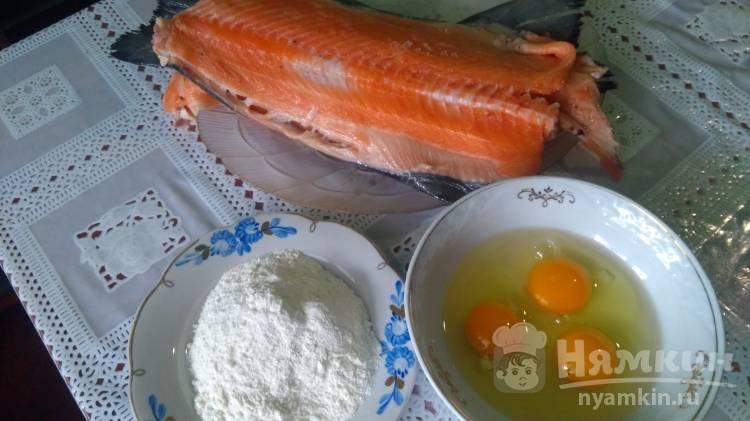 Рецепты лосось в кляре