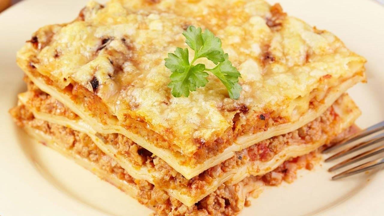 Лазанья с фаршем в домашних условиях — 10 простых рецептов