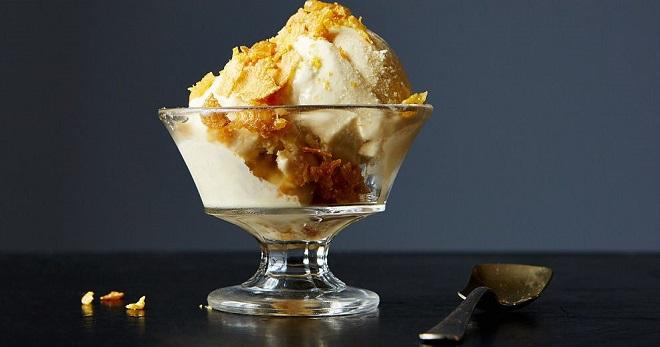 Лимонное мороженое джелато аль лимоне рецепт – итальянская кухня, вегетарианская еда: выпечка и десерты.
