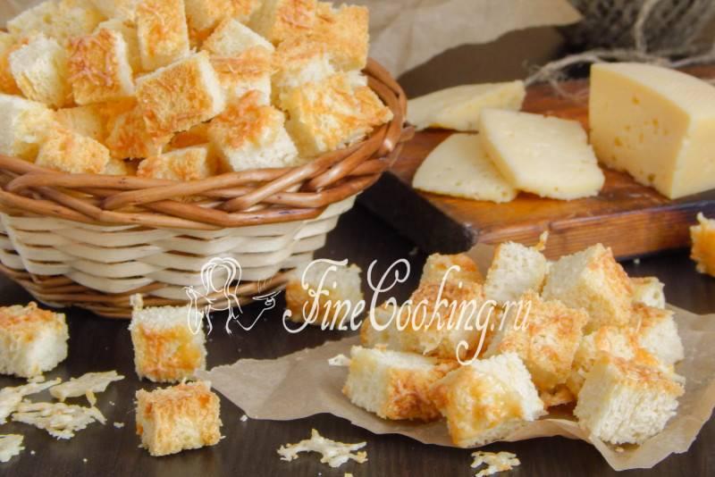 Сухарики в домашних условиях: соленые, с чесноком, к пиву, с сыром. рецепты домашних сухариков из белого и черного хлеба без химии