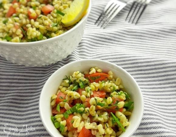 Салат с булгуром — kısır - рецепты джуренко