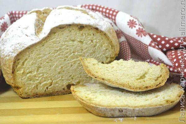 Домашний содовый хлеб на кефире - простой и проверенный рецепт