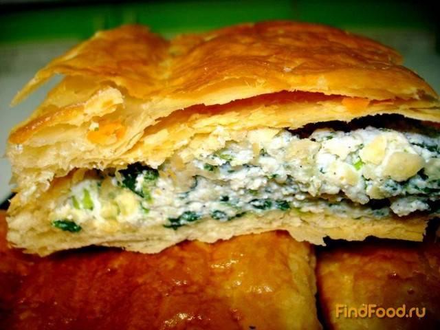 Пирог со шпинатом и сыром. пошаговый рецепт с фото