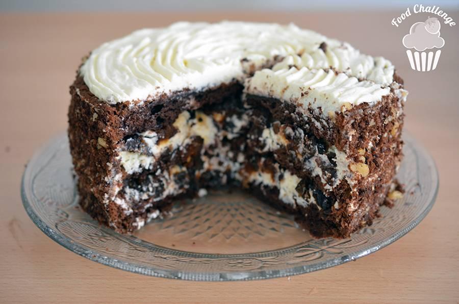 """Торт """"чернослив в шоколаде"""" - 20 пошаговых фото в рецепте"""