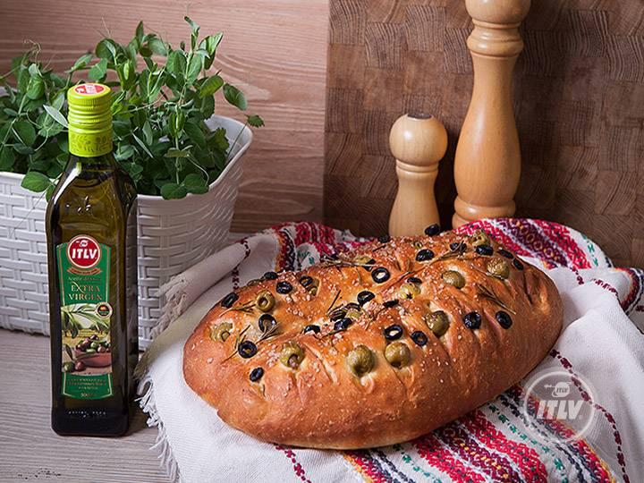 Генуэзская фокачча с картофелем